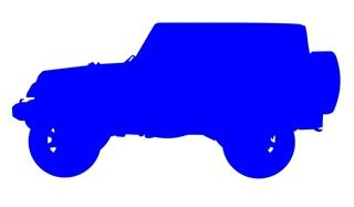 320x187 Jeep Silhouette 1 Decal Sticker