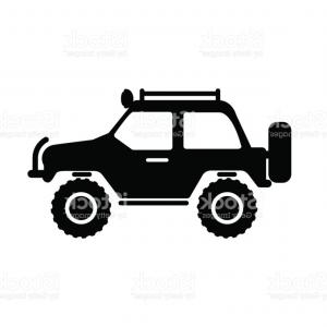 300x300 Off Road Vehicle Silhouette Vector Icon Gm Createmepink