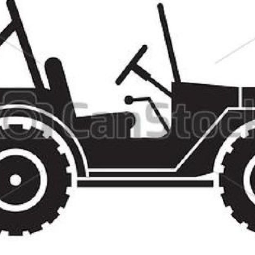 1024x1024 Army Jeep Silhouette Clipart Vector Throughout Willys Jeep