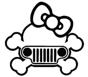 300x262 Jeep Girl Clipart