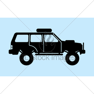 325x325 Jeep Silhouette Gl Stock Images
