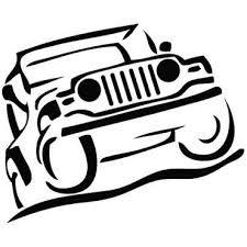 225x225 Cartoon Jeep Clip Art Jeep Silhouette.