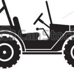 150x150 Army Jeep Silhouette Clipart Vector Throughout Willys Jeep