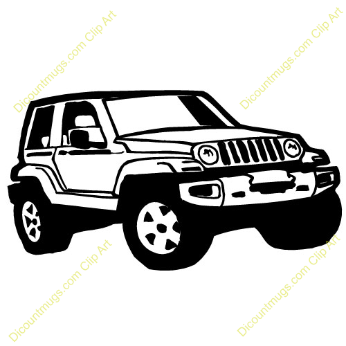 500x500 Jeep Clipart Collection
