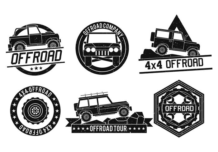 700x490 Off Road Vector Logo Set