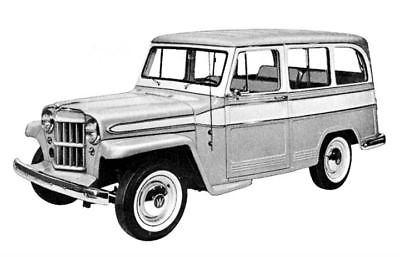 400x257 Vtg 1958 Willys Silhouette Comparison Study Xm443 E2 M151 M38 A1