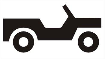 350x197 Jeep Silhouette Clip Art Cliparts