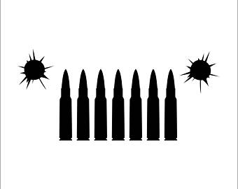 340x270 Jeep Grill Decal Etsy