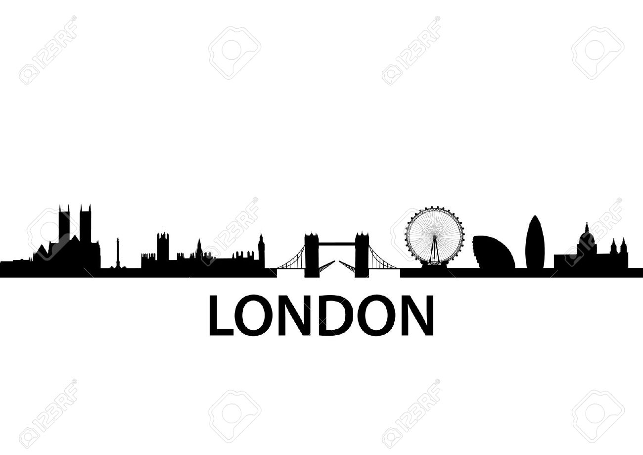 1300x919 Skyline Clipart England
