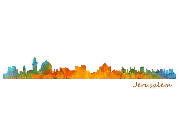 580x378 Jerusalem Cityscape Skyline Jerusalem And Graphics