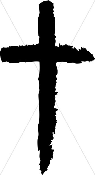 332x612 Simple Calvary Silhouette Crosses Cross Clipart