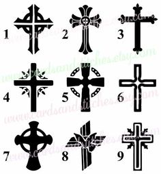 236x254 Cross Silhouette Clip Art Pack Download Free Christian Vector
