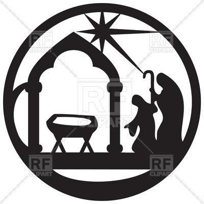 Jesus Christ Silhouette Illustration