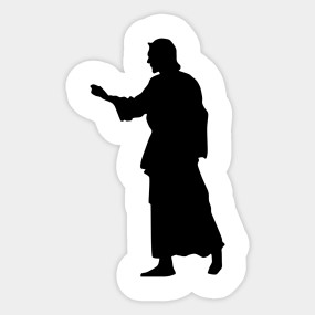 285x285 Limited Edition. Exclusive Jesus Christ Silhouette