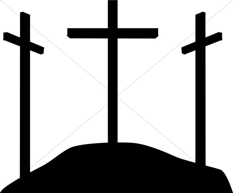 776x642 Simple Calvary Silhouette Crosses Cross Clipart