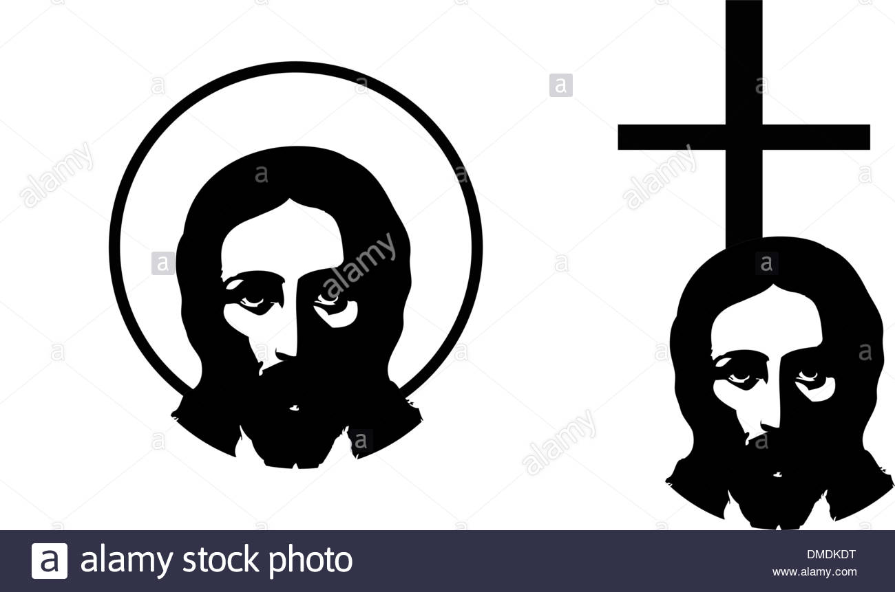 1300x861 Jesus Christ Portrait Stock Vector Images