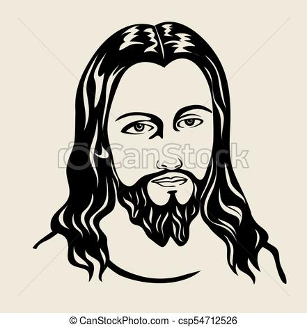 441x470 Jesus Christ, Art Vector Design Vector Illustration