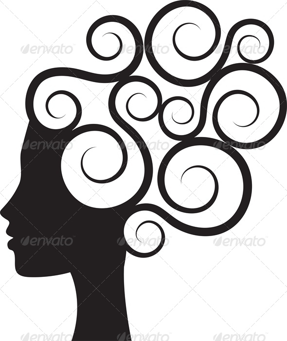 590x702 Curl Clipart Silhouette Many Interesting Cliparts