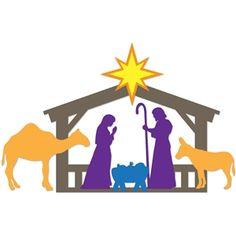 236x236 Padauk Wood, Cameroon Fair Trade Nativity Xmas