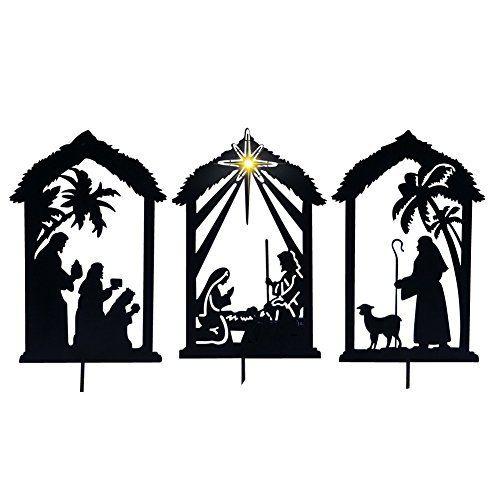 500x500 Teak Isle Believe Holy Family Outdoor Nativity Set Crafts