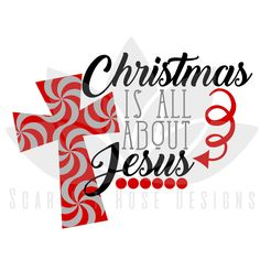 236x236 Christmas It's All About Jesus Cricut, Silhouettes And Filing