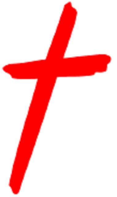 380x640 Red Cross Clipart Jesus