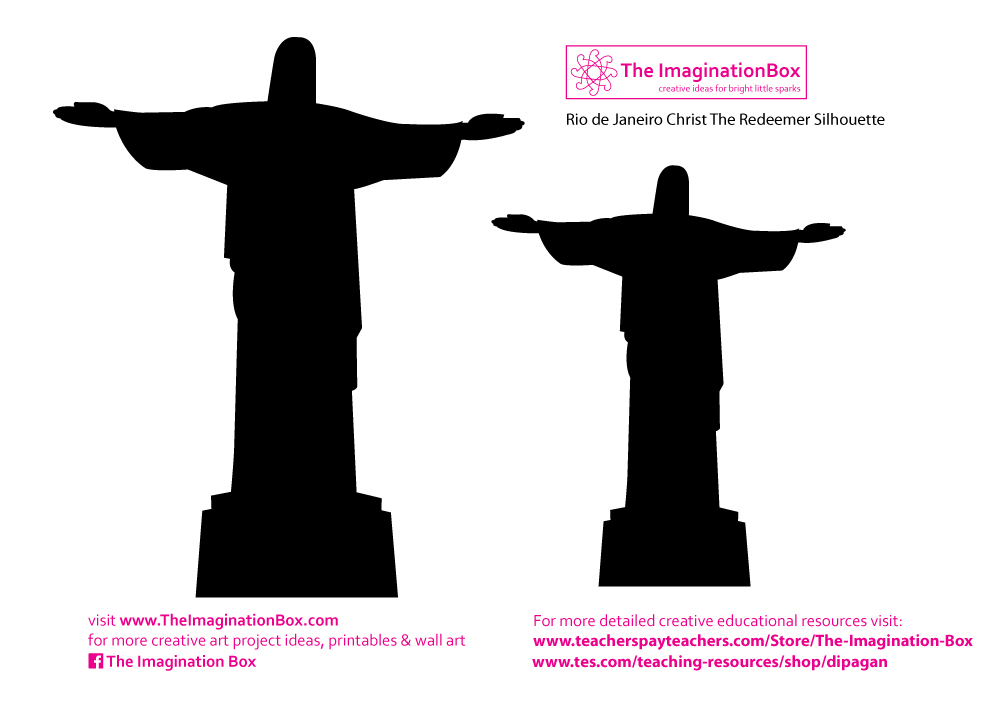 1000x710 Christ The Redeemer Clipart Amazon Rainforest Clipart