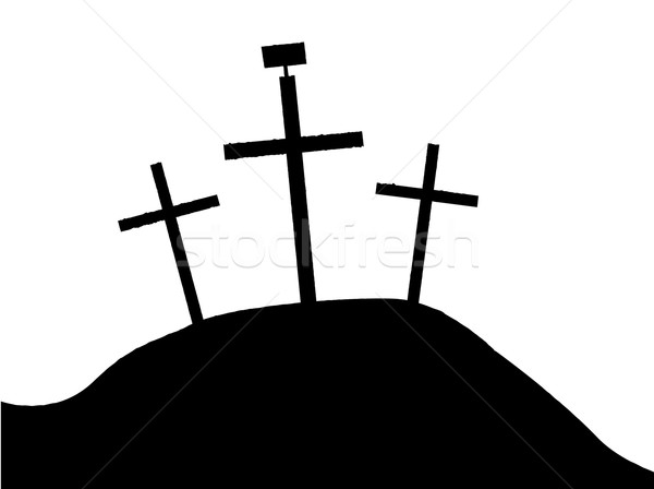 600x448 Silhouette Calvary Stock Photos, Stock Images And Vectors Stockfresh