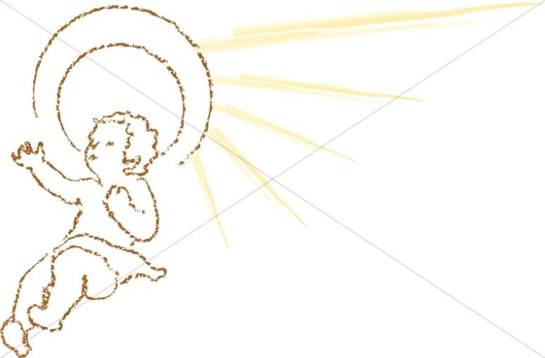 776x510 Mary Joseph And Baby Jesus Silhouette Nativity Clipart