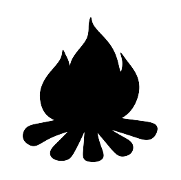 263x262 Campfire Silhouette Tamplate Campfire!, Svg!