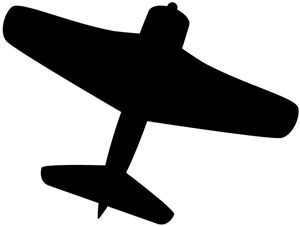 300x226 Jet Fighter Clipart Wwii