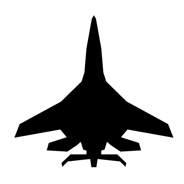640x640 Fighter Aircraft Free Icon Mark Illustration