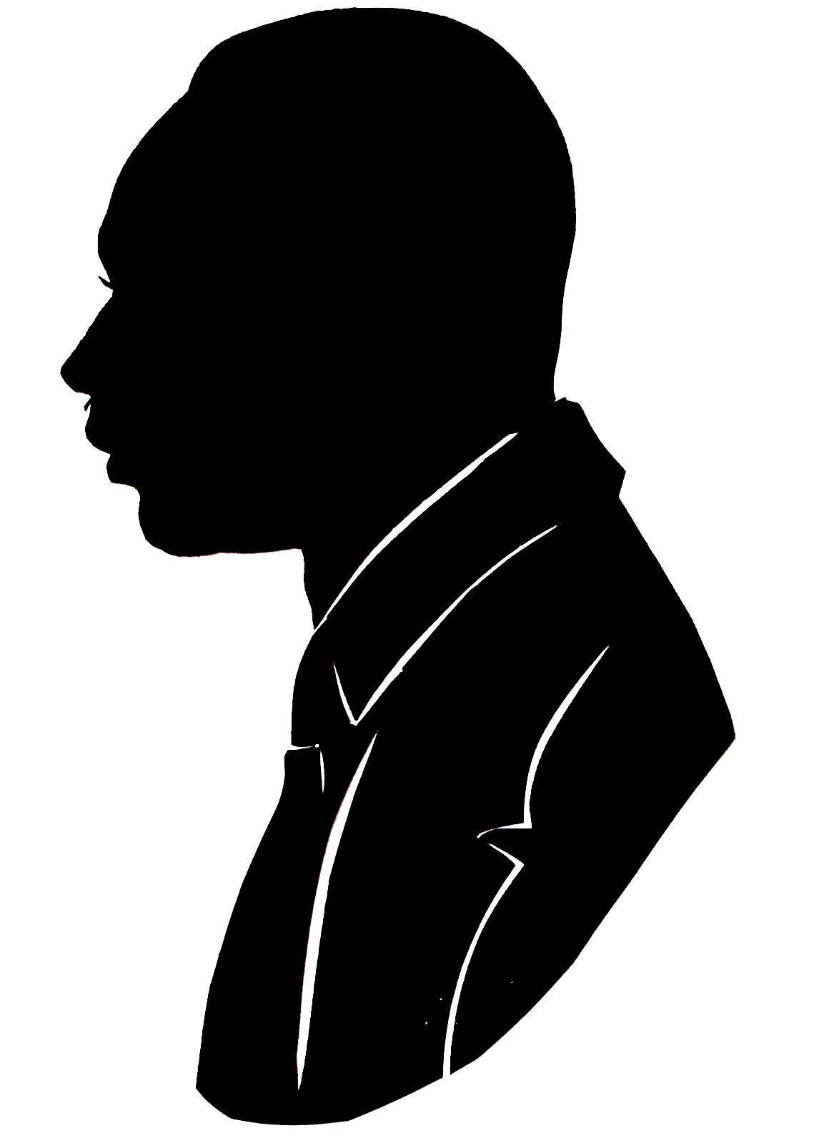 Jim Morrison Silhouette