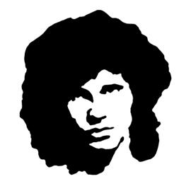 270x270 Jim Morrison Stencil Free Stencil Gallery