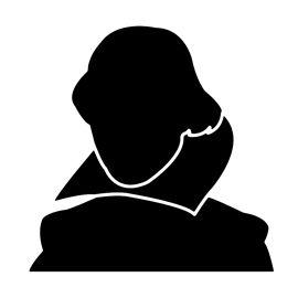 270x270 William Shakespeare Stencil Stencils Templates For Bad Asses