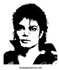 206x244 Michael Jackson Silhouette