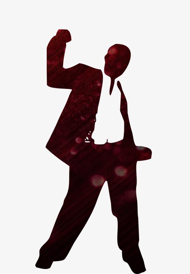 650x938 Vector Black Silhouette Figures, Success, Ideal, Job Png Image