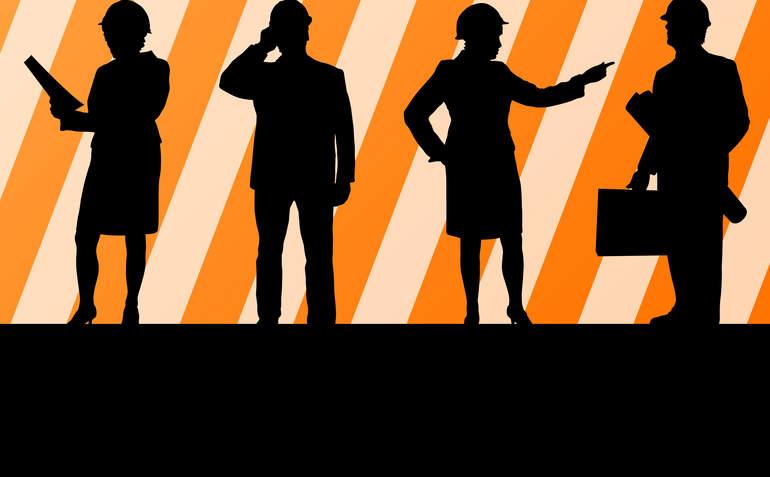 Jobs Silhouette