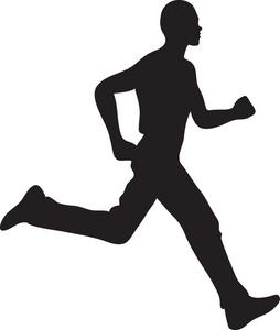 254x300 Person Jogging Clipart