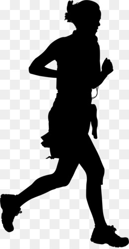 260x500 Free Download Jogging Silhouette Running Clip Art