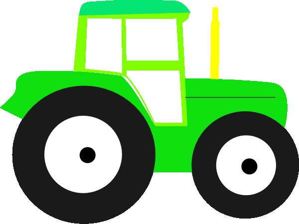 600x451 John Deere Tractor Clipart