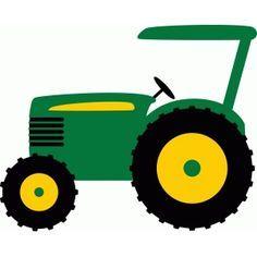 236x236 John Deere Tractor Clipart