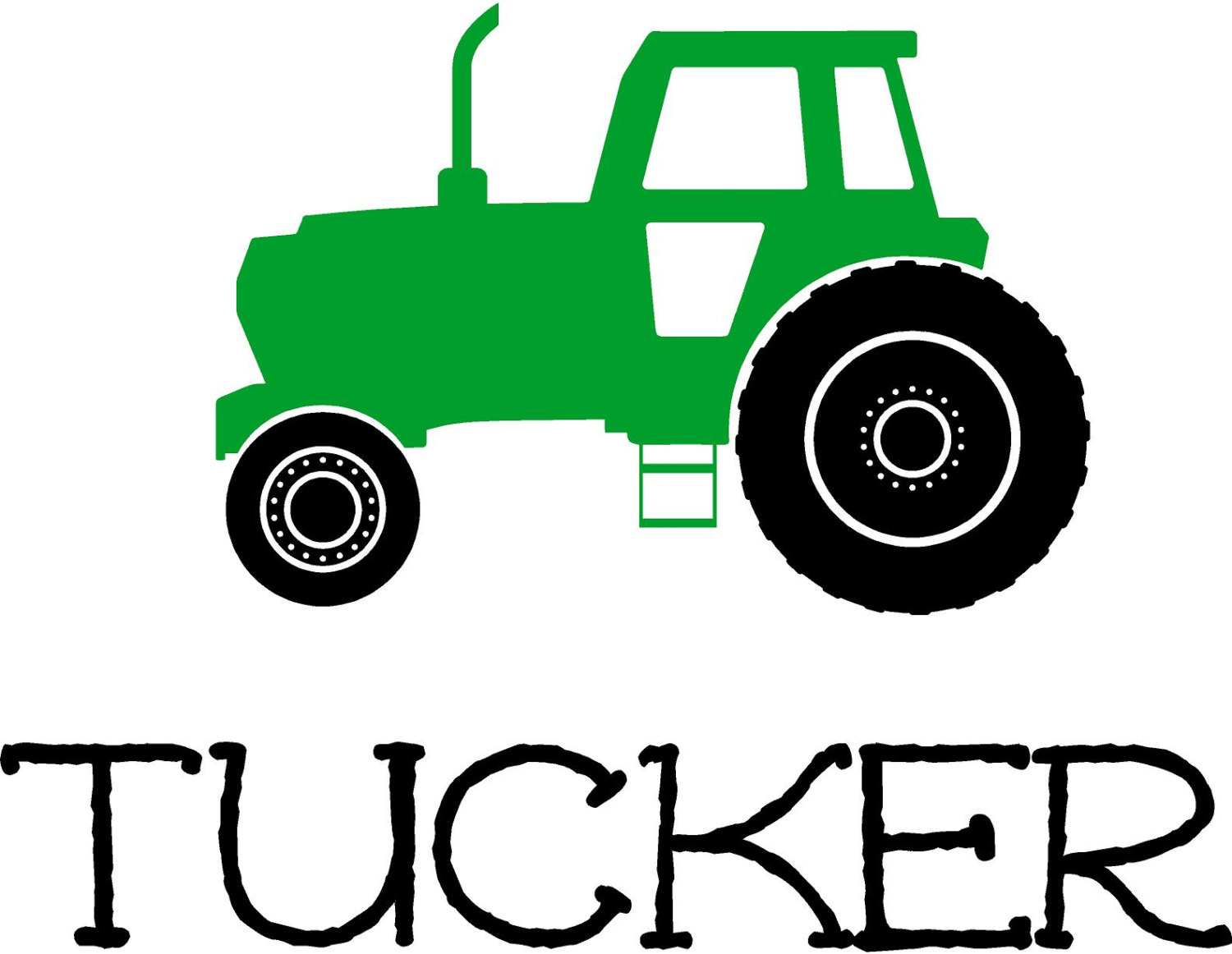 1500x1162 Personalized Name Tractor Boys Farm Bedroom Childrens