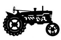 200x133 Vintage John Deere Tractor Clipart