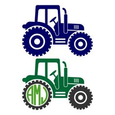 236x236 Instant Download Cutting File Tractor Svg And By Schnookywoo