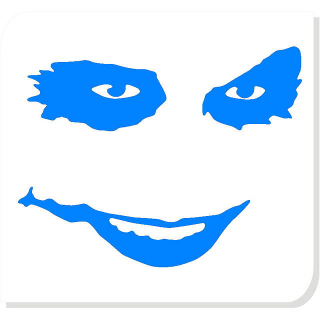 640x640 Wholesale 50pcslot 9 Color Joker Face Clown Grin Funny Humor