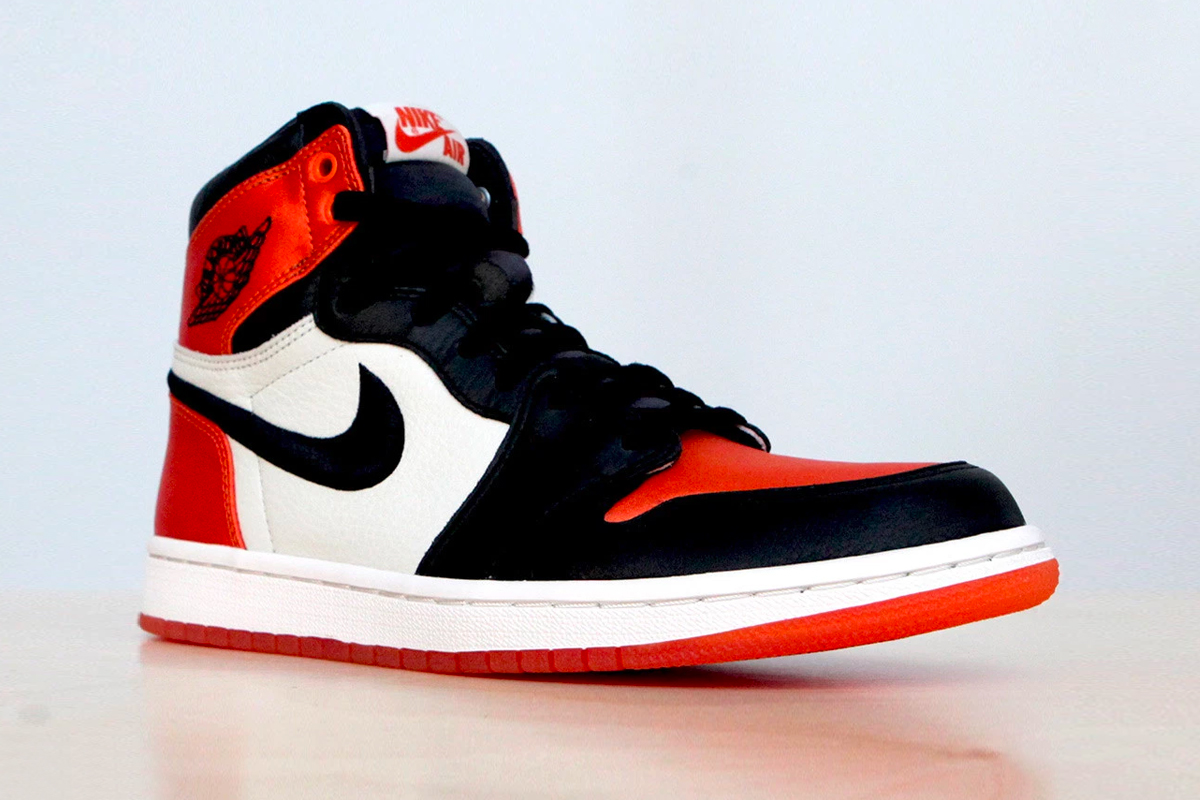 competitive price 999ce 3839f 1200x800 Air Jordan 1 Satin Black And Red Hypebeast