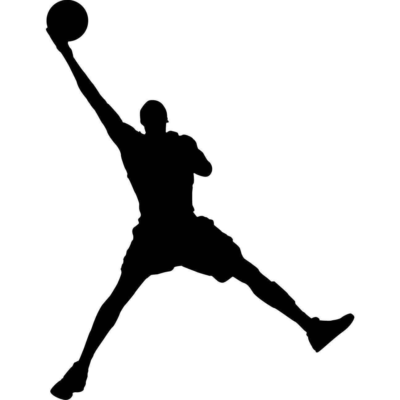 1296x1296 Basketball Silhouette Clip Art Jordan