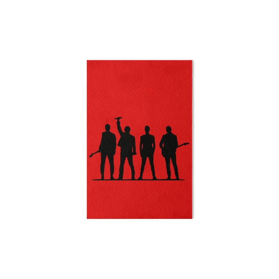900x900 U2 Silhouette The Joshua Tree Tour Art Boards By Thequeenssavior