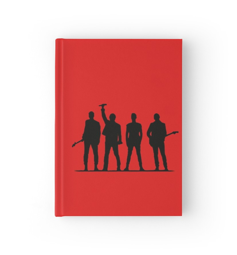 827x889 U2 Silhouette The Joshua Tree Tour Hardcover Journals By